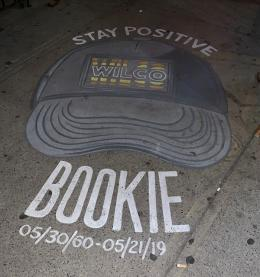 Sidewalk art outside the Horseshoe — photo credit: Karen Bliss