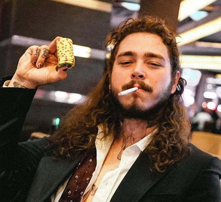 Post Malone Younger: Post Malone Puts His 'Rockstar' Into Hip-Hop Stratosphere