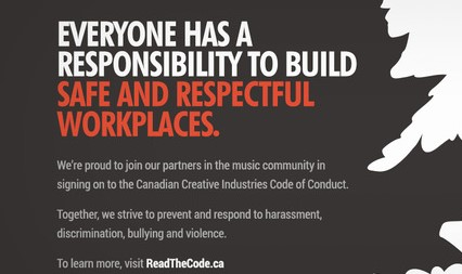 Music Industry Subscribes To A Code Of Conduct