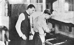 Herbert at the Compo co. circa 1920.