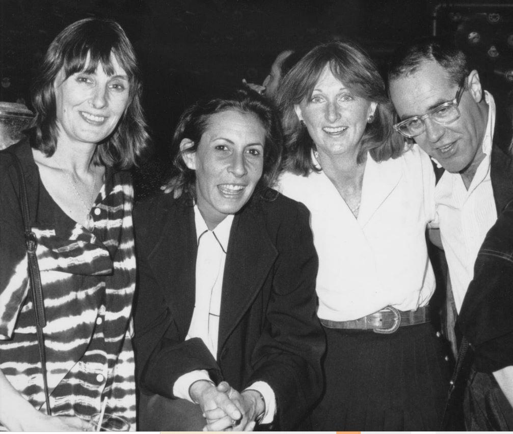 Jane Harbury, Joanne, Patricia Dunn, and Stuart Raven-Hill. Photo credit: Biserka Livaja