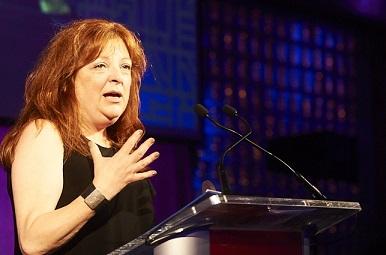 Brian Chater Leadership Award winner Sheri Jones