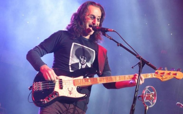 Geddy Lee  Facebook photo