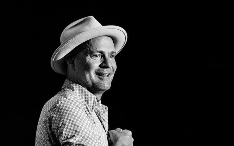 Gord Downie  Facebook photo