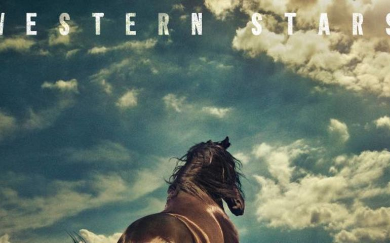 Bruce Springsteen album cover