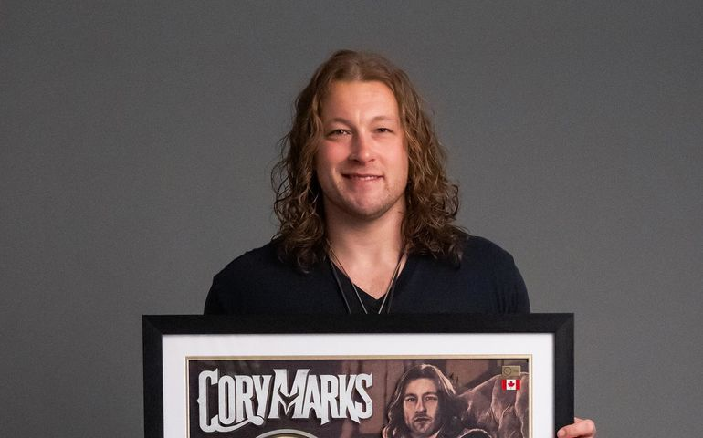 Cory Marks  Facebook photo