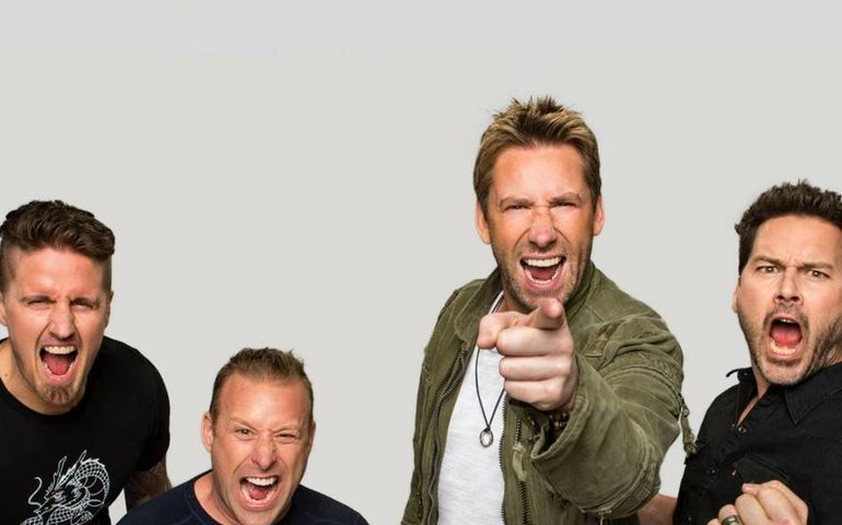 Nickelback  Facebook photo