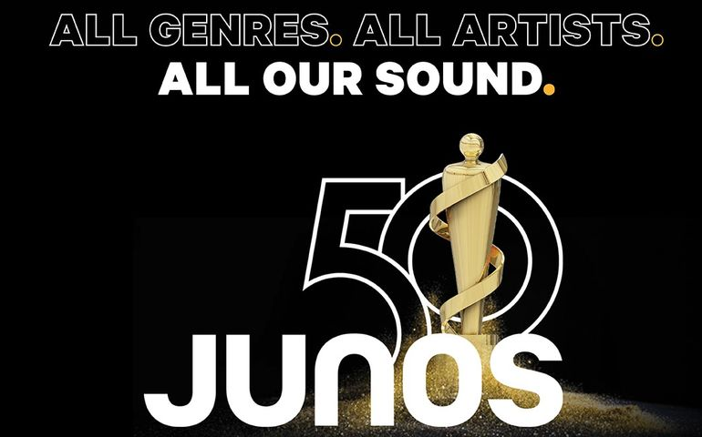 One of two official new handbills announcing this year's Juno show.