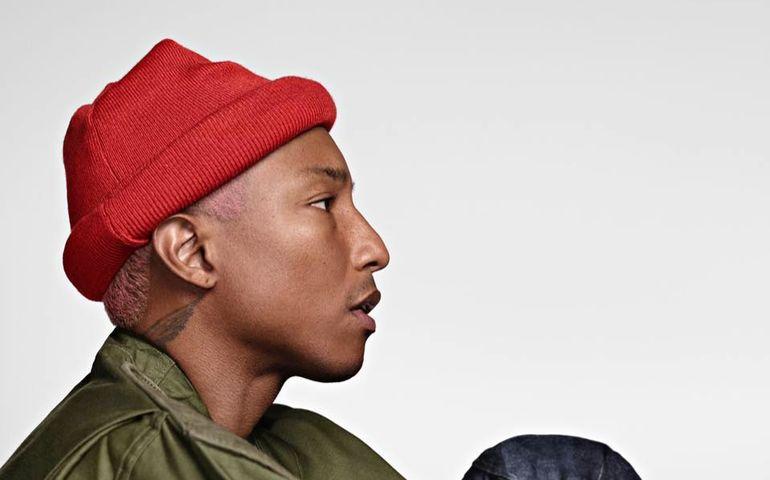 Pharrell Williams  Facebook photo