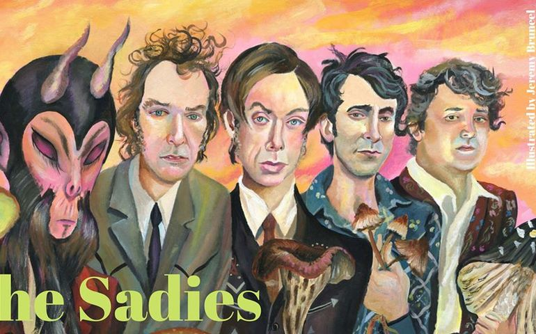 The Sadies  Illustration by Jeremy Bruneel