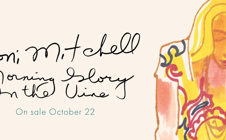 Cover art Joni Mitchell book. Facebook image