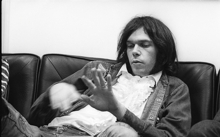 Neil Young  Facebook photo
