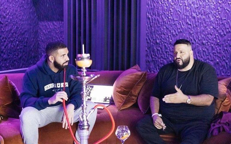 DJ Khaled and Drake  Facebook photo