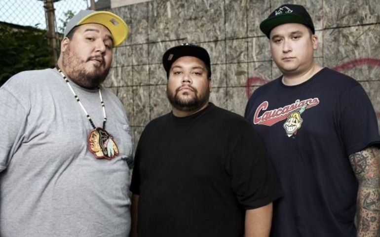 Drizzy had a good week, but so did A Tribe Called Red (pictured here).