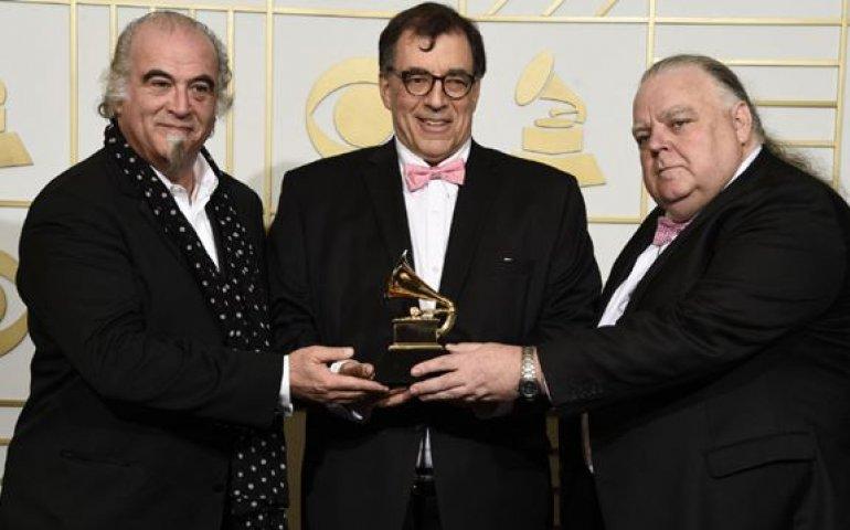 L to R: Steve Berkowitz, Jan Haust, Peter J. Moore