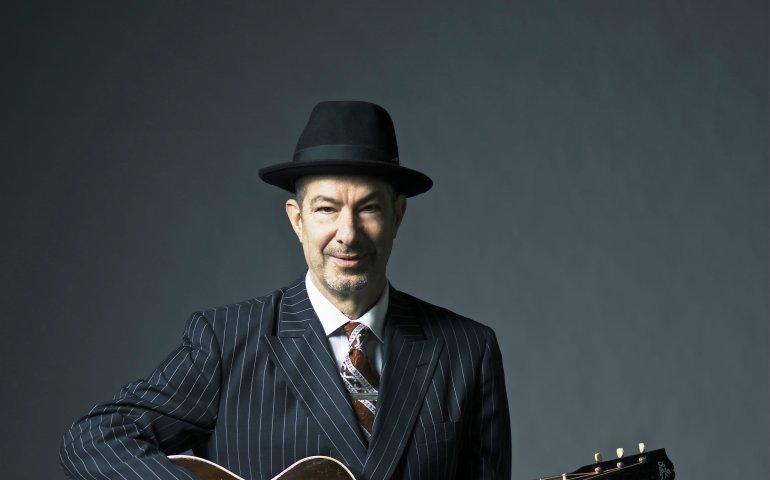 Danny in a classic bluesman pose. Photo credit  Don Dixon a5af0084b58