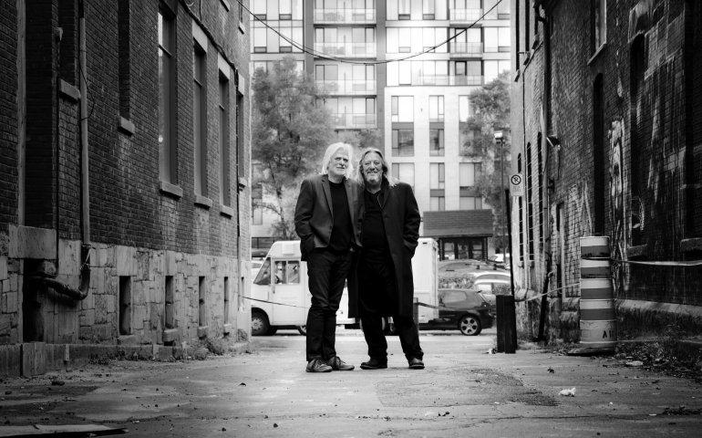 Serge Fiori and Louis Valois of Harmonium. Photo: Jean-Charles Labarre