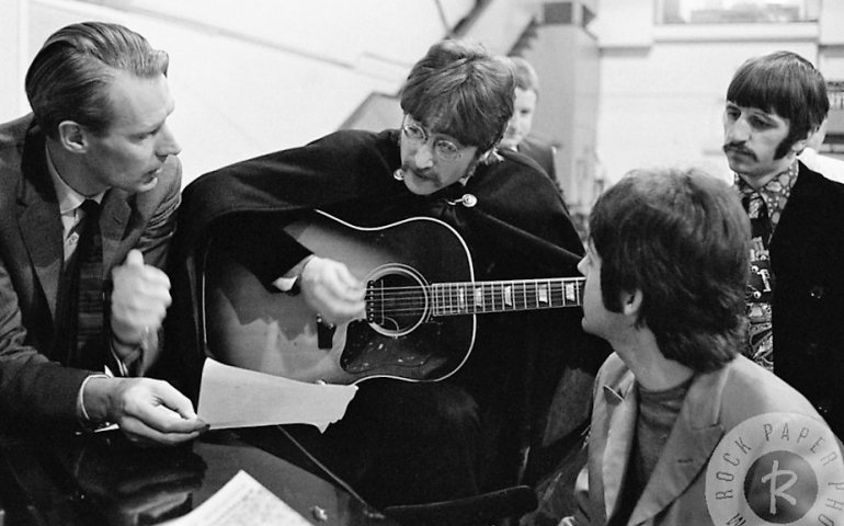 From 1962 to 1970, Martin produced 13 albums and 22 singles for the Beatles, a compact body of work that adds up to less than 10 hours of music but that revolutionized the popular music world.