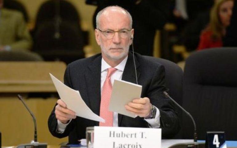 CBC President Hubert T. Lacroix