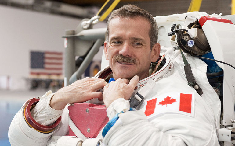 Chris Hadfield   Website photo