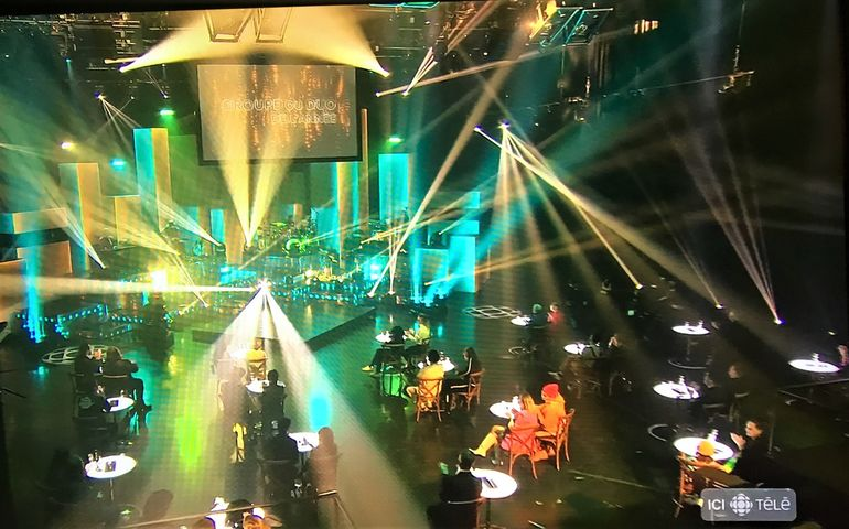 Adisq Awards televised screen capture