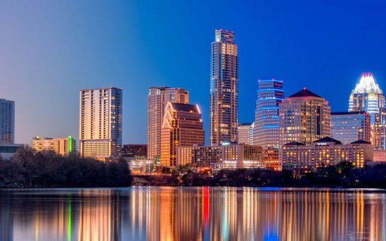 Austin skyline. Pic - YouTube