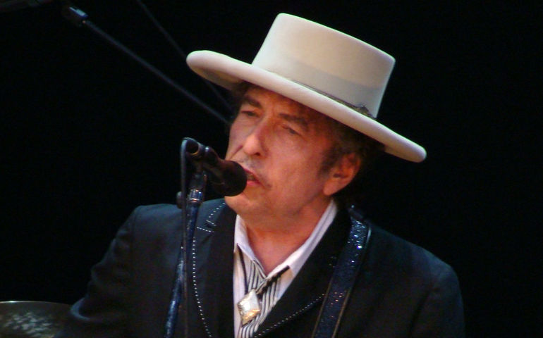 Bob Dylan, 2010. Wikipedia photo