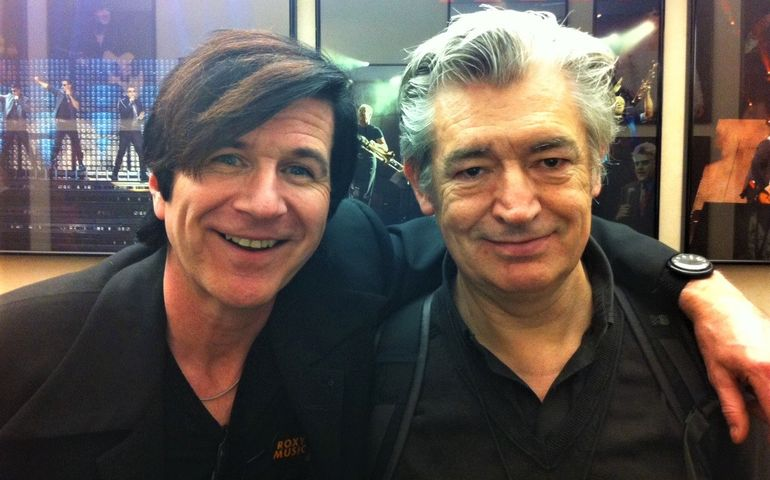 Bobby with famed Brit guitarist/producer Chris Spedding