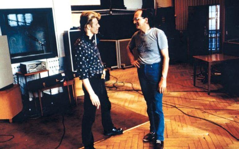David Bowie in Hansa Studios