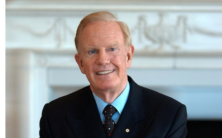 Broadcasting pioneer Ted Rogers is one of six great Canadians to be inducted into Canada's Walk of Fame this year.