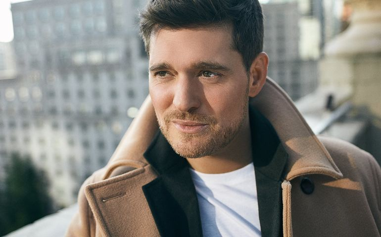 Michael Bublé's Love debuts at 2 this week.