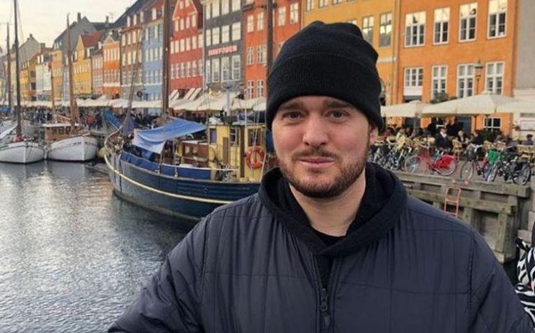 Taken on his recent European tour. Source: Instagram
