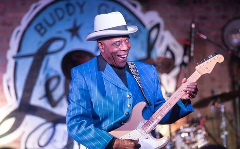 Buddy Guy playing the blues