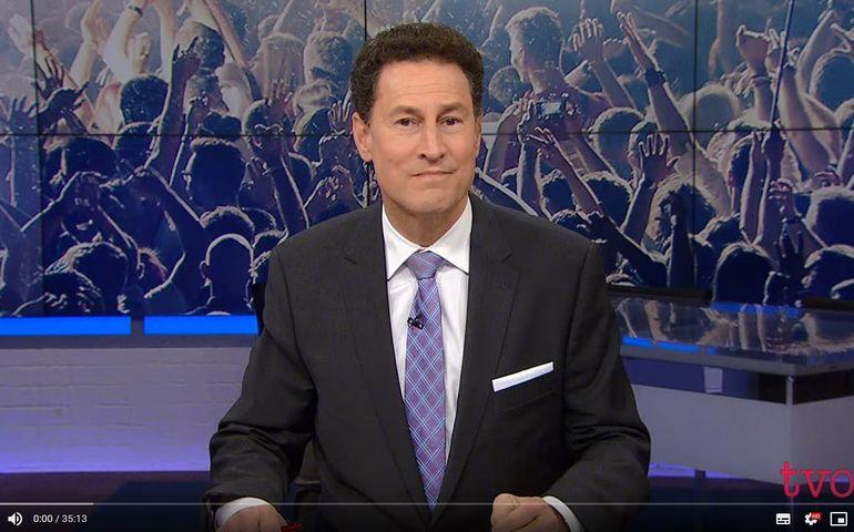 Screen shot of The Agenda with Steve Paikin (TVO).