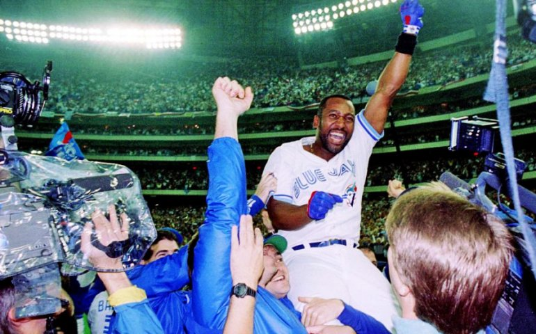 Joe Carter, Bill King, baseball, Blue Jays