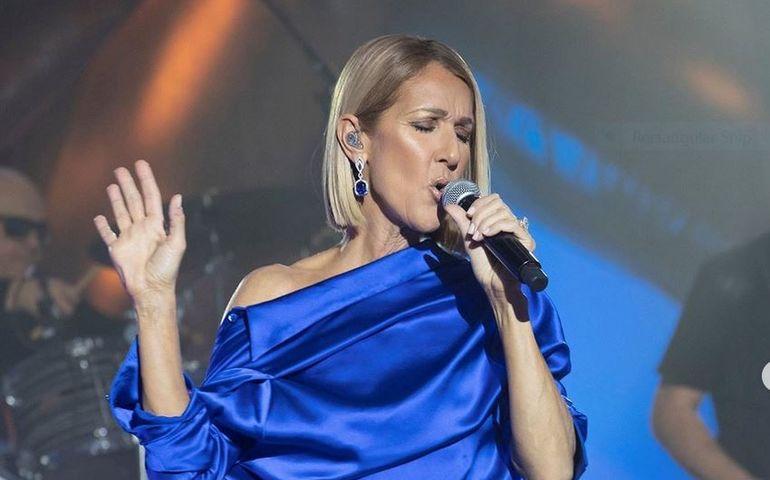 Celine in concert, Instagram