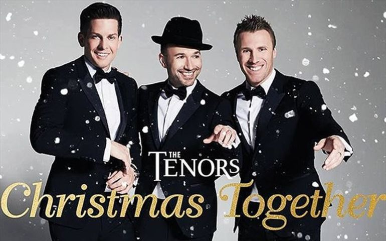 The Tenors: Christmas Together album graphic