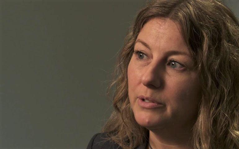 CMRRA president Caroline Rioux