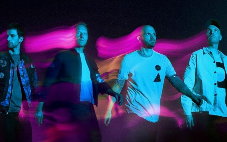 Official Coldplay photo