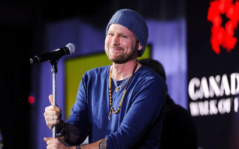 Walk of Fame inductee Corey Hart. Pic: George Pimentel Photography