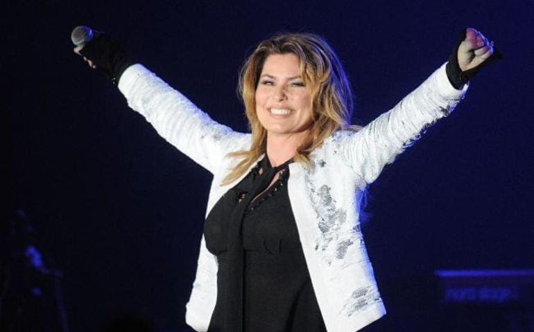 Shania Twain   Photo: Herald Sun