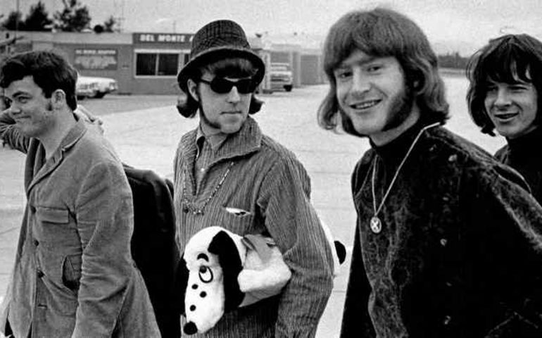 Denny Gerrard, Chuck Beal, Skip Prokop and Adam Mitchell of The Paupers. (Monterey Herald archives)