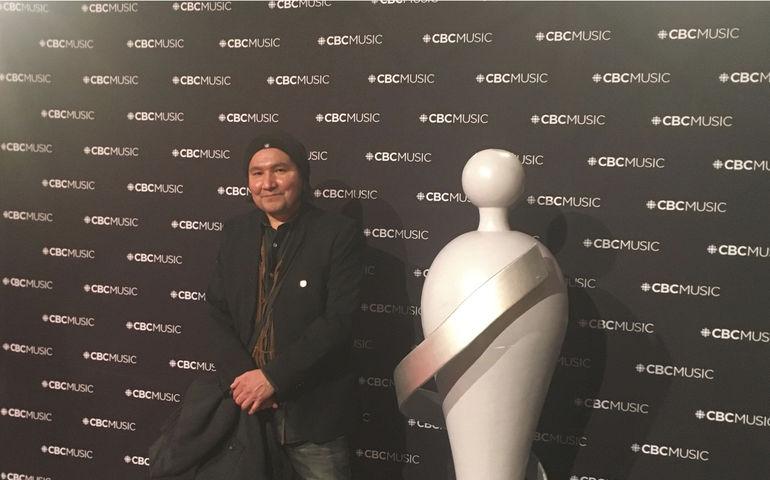 Digawolf with Juno Award replica