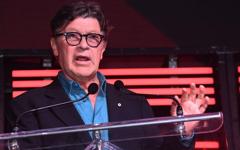 2019 CMBIA Lifetime Achievement Award Winner Robbie Robertson. Pic: Grant W. Martin