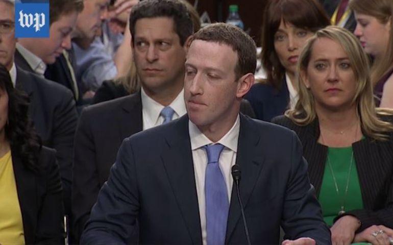 Facebook co-founder & CEO Mark Zuckerberg in Washington this week.