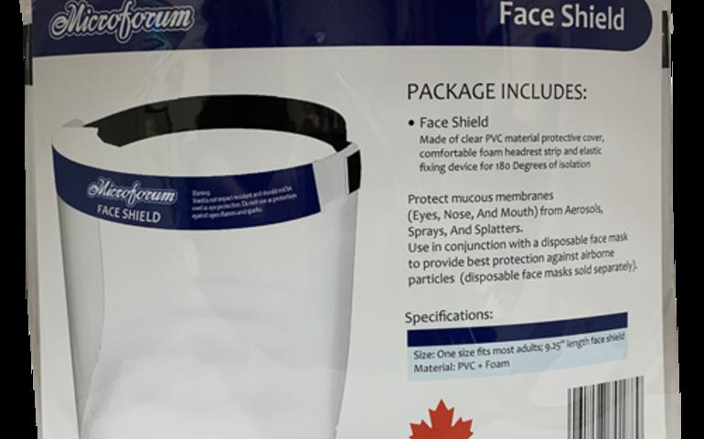A Microforum Face Shield