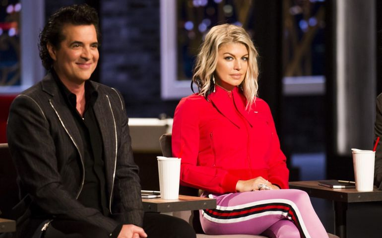 Scott Borchetta and Fergie are two high profile judges on The Launch