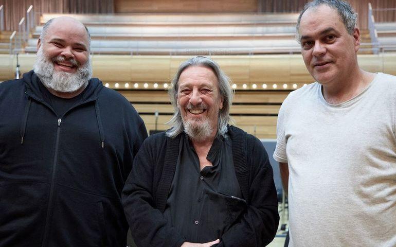 Nicolas Lemieux, Serge Fiori and Simon Leclerc. Photo credit: Zablit.