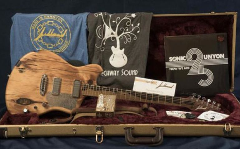 Custom Jillard Guitars will support An Instrument For Every Child — photo provided