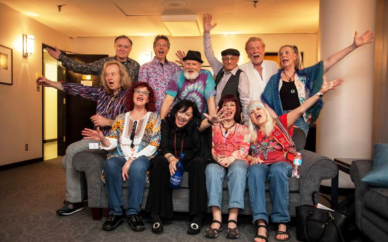 May 25 Hair cast reunion at Sing! Festival. Pic: Ben Cousins, Social Image